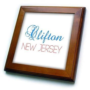 Amazoncom 3drose Alexis Design American Cities New Jersey
