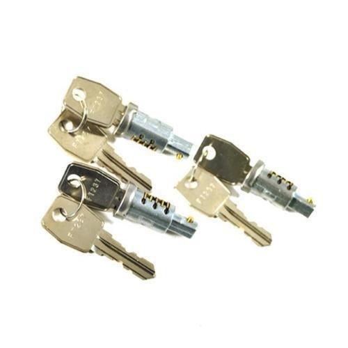 - LAND ROVER DEFENDER 90/110 LOCK BARREL & KEY SET, 3 LOCKS AND KEYS MTC6504