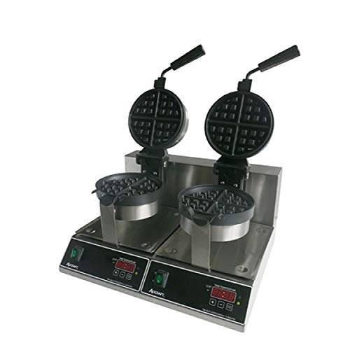 (Adcraft BWM-7/R-2 7-Inch Belgian Waffle Maker, 2000-Watts, 120v)