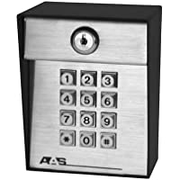 AAS ADV-1000 AdvantageDK American Access System Post Mount Digital Keypad 1000 Codes