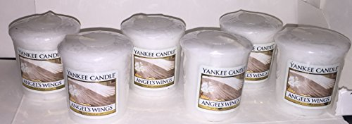 Candle Wing Angel (Yankee Candle Lot of 6 Angel's Wings Votives)