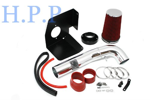2009 2010 2011 Chevrolet Tahoe with 4.8L/5.3L/6.2L V8 Heat Shield Intake RED (Included Air Filter) #HSI-CD-3R by High performance parts