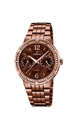 Festina Classic Ladies F16796/2 Wristwatch for women With crystals
