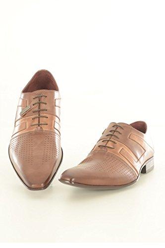 Ville Chaussures De Les Cuir Herbin Marrons Redskins U064wEqfU