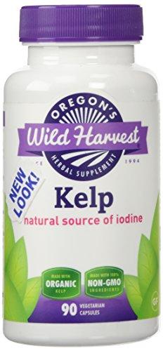 Oregon's Wild Harvest Kelp 90 Veg Caps