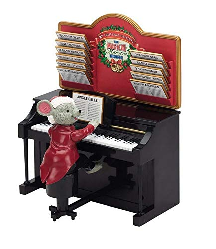 Mr. Christmas Magical Maestro Mouse with Piano