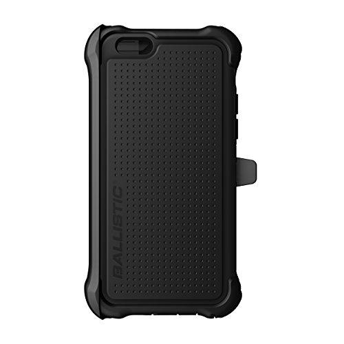 BALLISTIC Tough Jacket Maxx Series Case for Apple iPhone 6 - Retail Packaging - Black