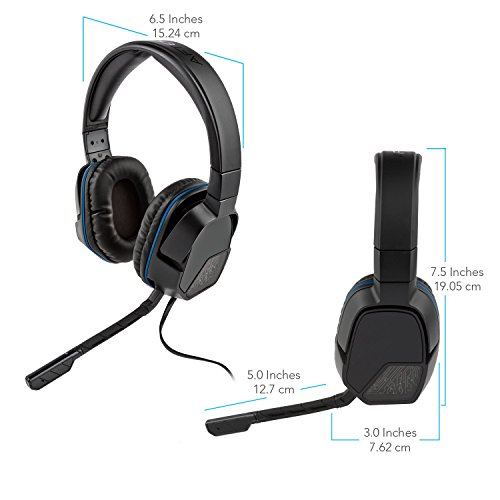 417aQ4wqixL - PDP Sony Afterglow LVL 3 Stereo Gaming Headset 051-032, Black
