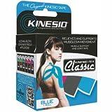 Kinesio174; Tex Classic Kinesiology Tape, 2'' x 4.4 yds, Blue, 6 Rolls