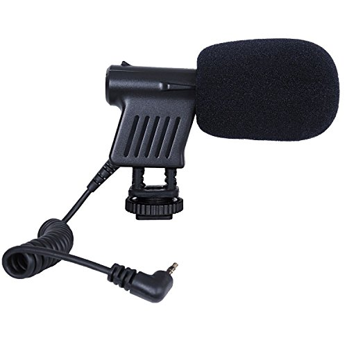 Movo VXR1000 Mini HD Shotgun Condenser Microphone for DSLR Video Cameras