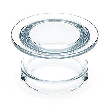 Breville interior tapa/vaso medidor para batidora de el hemisferio de fundición 800blxl