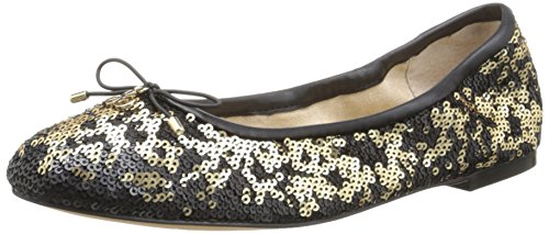 Womens Pure Sam Edelman Sequins Felicia Closed Gold xwI5gI
