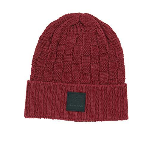 - Diamond Supply Co. Knit Beanie (Burgundy, One Size)