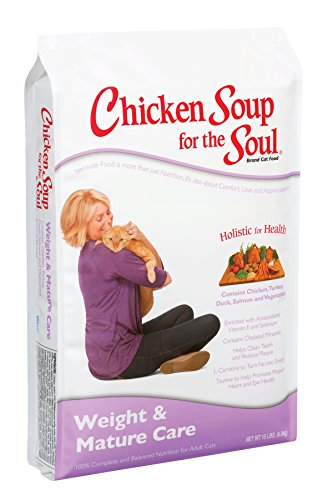 Chicken Soup for the Soul Weight & Mature Care Cat 5lb