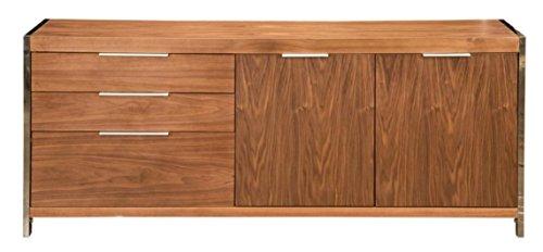 walnut china cabinet - 4