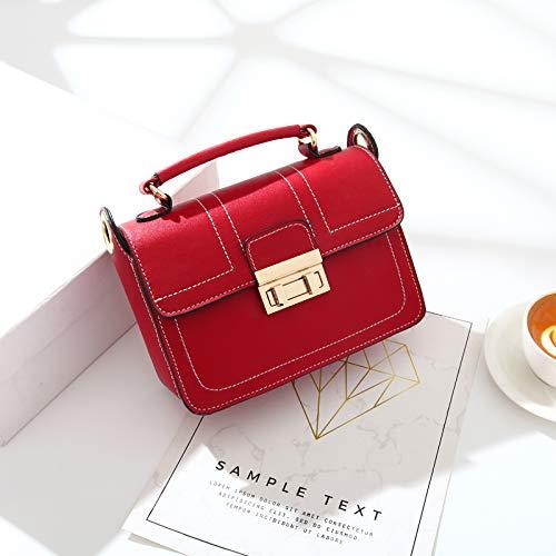 Rouge Femme Messenger marée Sac d'été bandoulière Sac Fille WSLMHH Main coréenne Sauvage Version Simple à Petit Sac du Sac à Mode BzOnqR