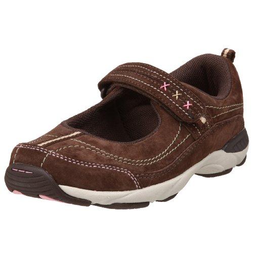 Stride Rite Toddler/Little Kid Joy Sneaker,Dark Brown,11 W US Little Kid