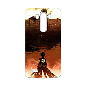 DASHUJUA Attack on Titan Cell Phone Case for LG G3
