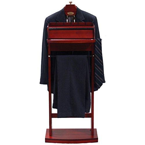 Excalibur Wardrobe Charging Valet VL16201 Hardwood Construction