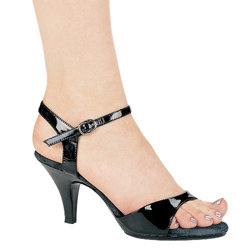 "ELLIE 305-JULIET 3"" Heel Women's Sandal  Black 15 Size"
