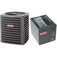 Goodman 2.5 Ton 13 SEER AC R-410a with Upflow/Downflow Coil 21 wide model GSX130301/CAPF3030C6