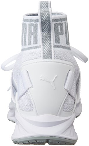 Gray Puma Adulte Running White quarry Compétition de 03 vaporous Evoknit Chaussures Blanc Mixte Puma Ignite qOqpF