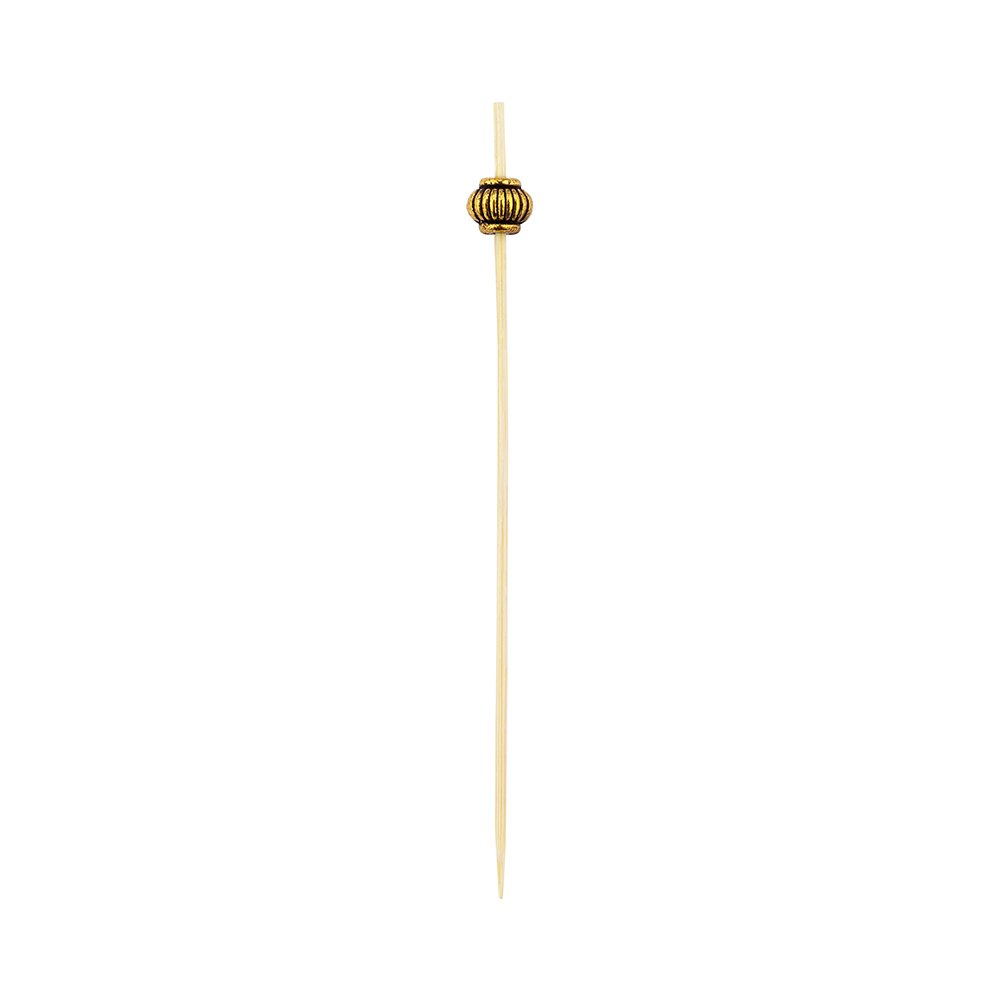 Luxury Gold Metal Beaded Picks - Skewers -  4'' - 1000ct Box - Restaurantware by Restaurantware (Image #11)