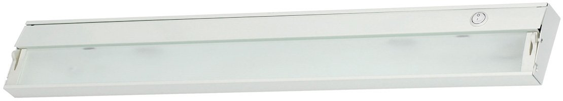 34 1//2-inch Finish White Under Under Cabinet//Utility Elk Lighting ZL035RSF Zeeline Xenon 120V-4 Light