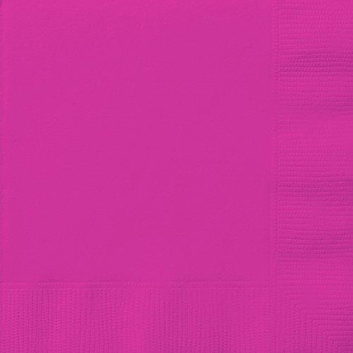 Neon Pink Paper Napkins, 20ct -
