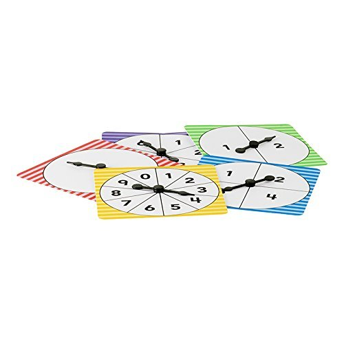* NUMBER SPINNERS PACK OF 5