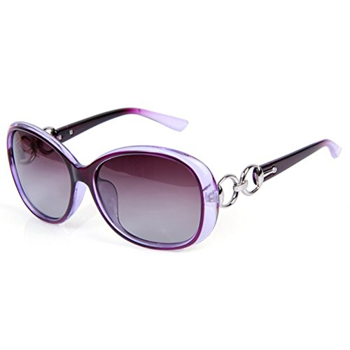 SnikFish Explosion Models Polarized Fashion Big Box Women Retro Fashion Sunglasses - Sunglass Strap Monogrammed