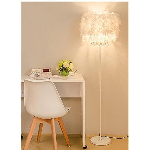 Pied Sur Orbecxeqdw Aluk Cristal Salon Plume Lampe E27 En Simple Moderne 5R4LjA