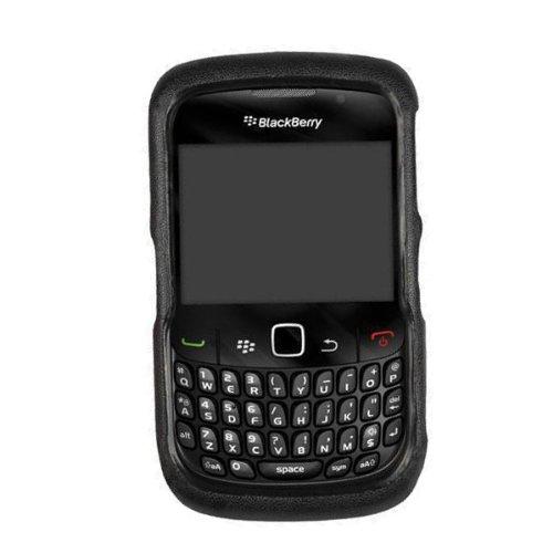 (Technocel Leather Shield for BlackBerry 8520/8530 Curve 2 - Black)