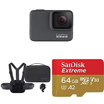Amazon.com: GoPro HERO7 Silver + Sports Kit + (1) tarjeta ...