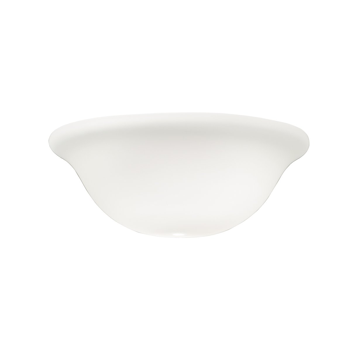 Kichler 340013 Accessory Universal Bowl Etched Cased Opal Glass Shade B00RKJEMQW ホワイト ホワイト