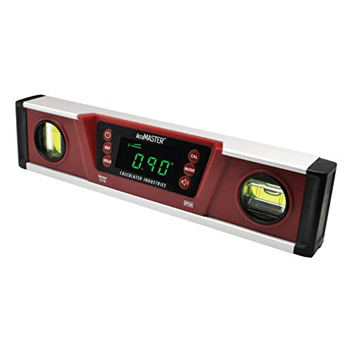 Calculated Industries 7210 AccuMASTER PRO Digital Torpedo Level and Protractor | 10