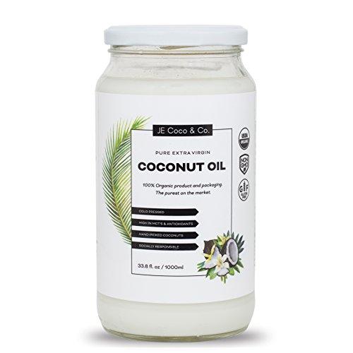 Organic Coconut Oil Unrefined Pressed
