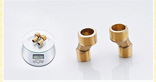 Hlluya Wasserhahn für Waschbecken Küche Küche Küche Schwarz duschen Messing Handheld Dusche Badewanne Armatur Dusche Handbrause einstellen 06685f