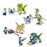 Tyrannosaurus Rex   Building Toys Mini Figures Bricks CZP 2-Piece