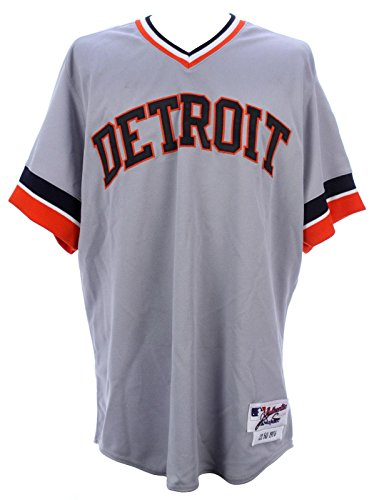 2012-Delmon-Young-Detroit-Tigers-1976-Throwback-Game-Worn-Full-Uniform-Mears-MLB-Game-Used-Jerseys