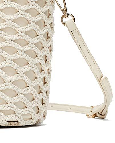 304 7318 Femme Zara en Shopper crochet wOxTSq