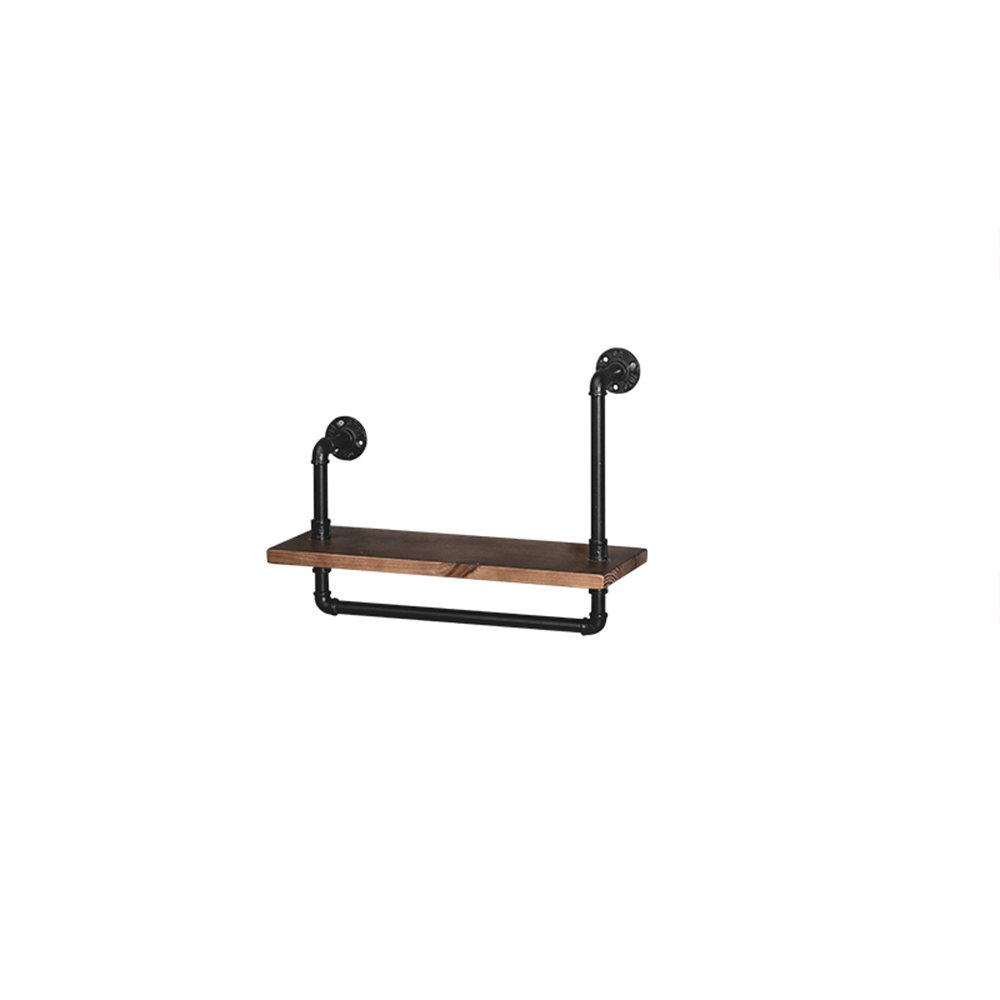 Combination Shelf Hanger / Vintage American Hose Rack / Coffee Shop Bar Wood Shelf / Wall Word Shelf / Shelf Combination Rack / (60 18 35cm) by Hangers