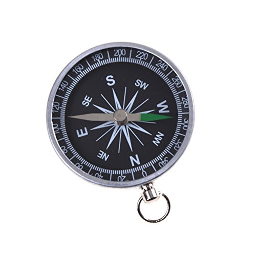 7thLake Pocket Compass for Hiking Camping Traveling Outdoor - Keychain - Portable Round Compass by 7thLake (Image #5)