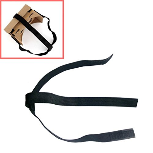 Perman DIY Head Mount Strap for Google Cardboard VR Virtual Reality 3D Glasses