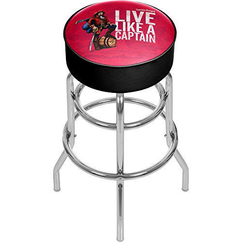 7711a3316f0d7 Trademark Gameroom Captain Morgan Chrome Bar Stool for sale Delivered  anywhere in USA