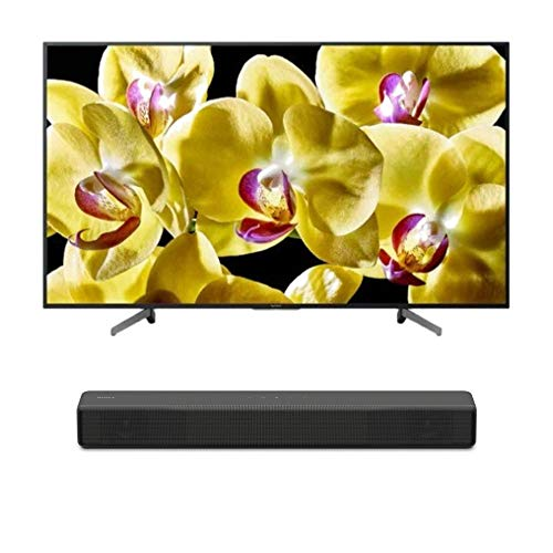 "Sony XBR-55X800G BRAVIA XBR55X800G Series - 55"" Class (2019 Model) with SONY HT-S200F 2.1 Channel Soundbar with Integrated Subwoofer"