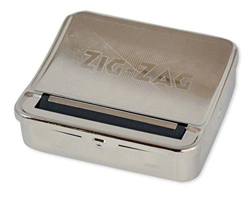 OCB 15446 ZIG-ZAG Rolling Box für Slim Zigaretten Drehmaschine für die perfekte Zigarette