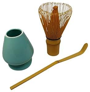 [ Tea utensils ] Chasen ( Chasen ) and three-piece set of songs repair u0026 tea scoop