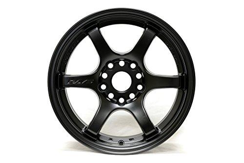 Gram Lights 57DR Gloss Black Wheel  (15x8/4x100, +28 (Gram Lights)