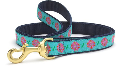 Image of Up Country Dahlia Darling Dog Leash